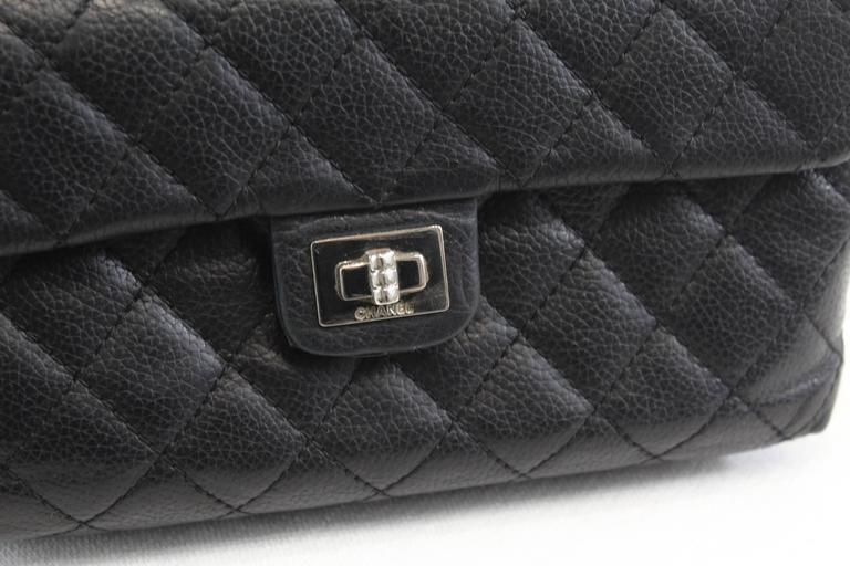 724a14084e9e Chanel Uniform Belt Bag in Black Caviar Leather For Sale 1