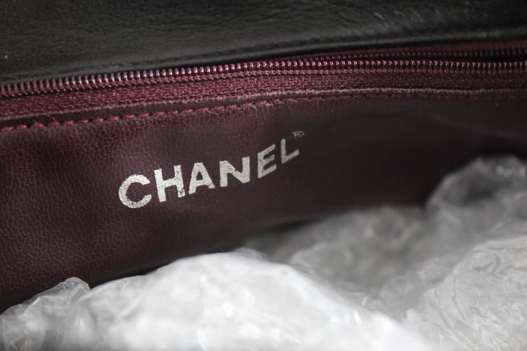Chanel Vintage Brown leather Backpack 4