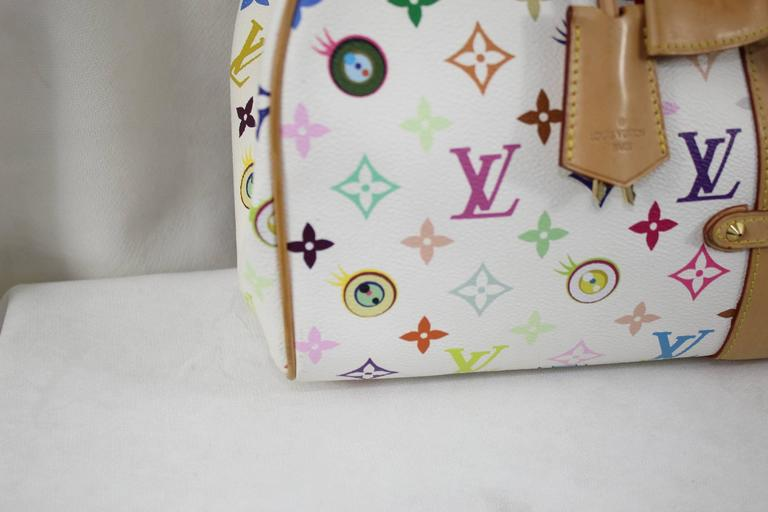 Louis Vuitton Nulmbered Limited Edition eye Love You Murakami Bag 50gGy8m