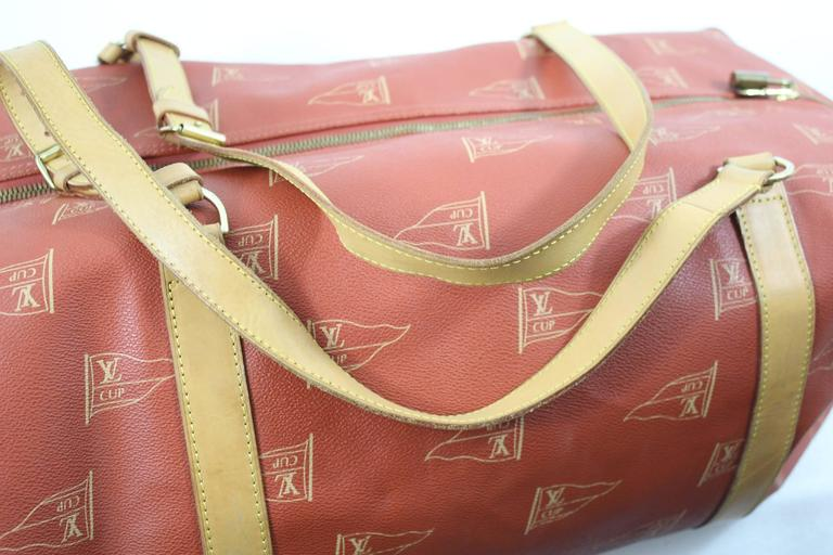 1995 Louis Vuitton Limited Edtion America's Cup Garment  / Keepall In Good Condition For Sale In Paris, FR