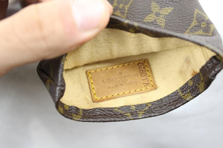 Louis Vuitton Vintage Monogram Canvas gold Club N5 Cover In Good Condition For Sale In Paris, FR
