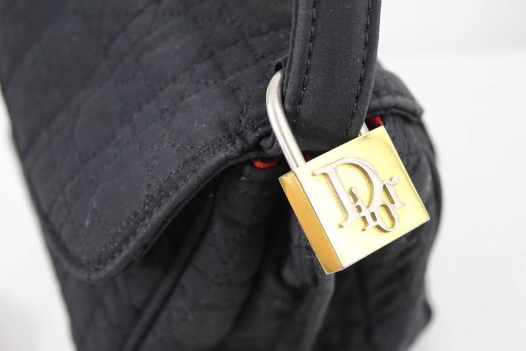 Rare Lovely Vintage Canvas Mini lady Dior Belt Bag  3