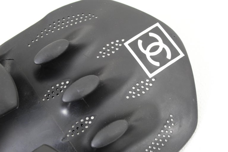 Black Rare Hard to find Chanel Swimming Fins from the Sport Line For Sale