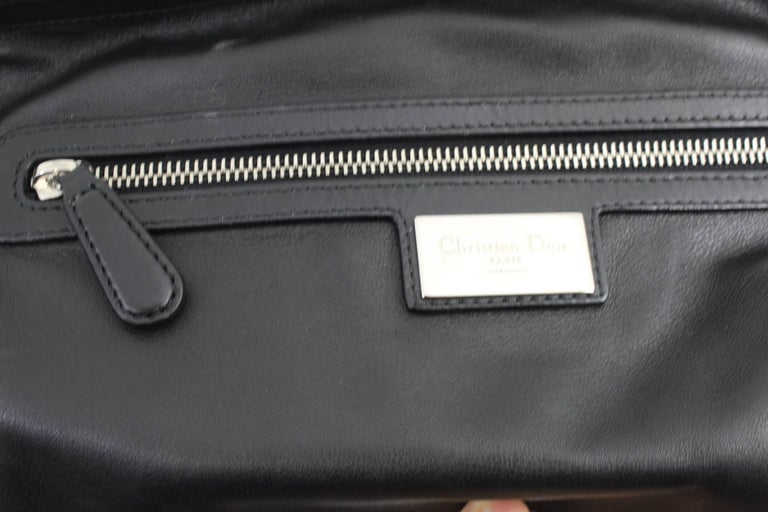 Women's or Men's 2011 Christian Dior Limited Edition by Anselm Reyle Coated Canvas  Bag  For Sale