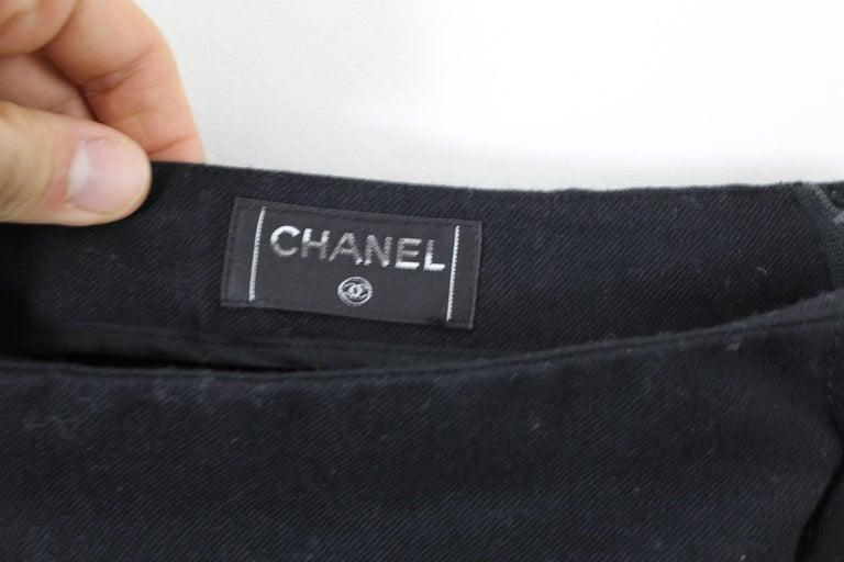 Chanel Wool Mini Skirt Size 38 French