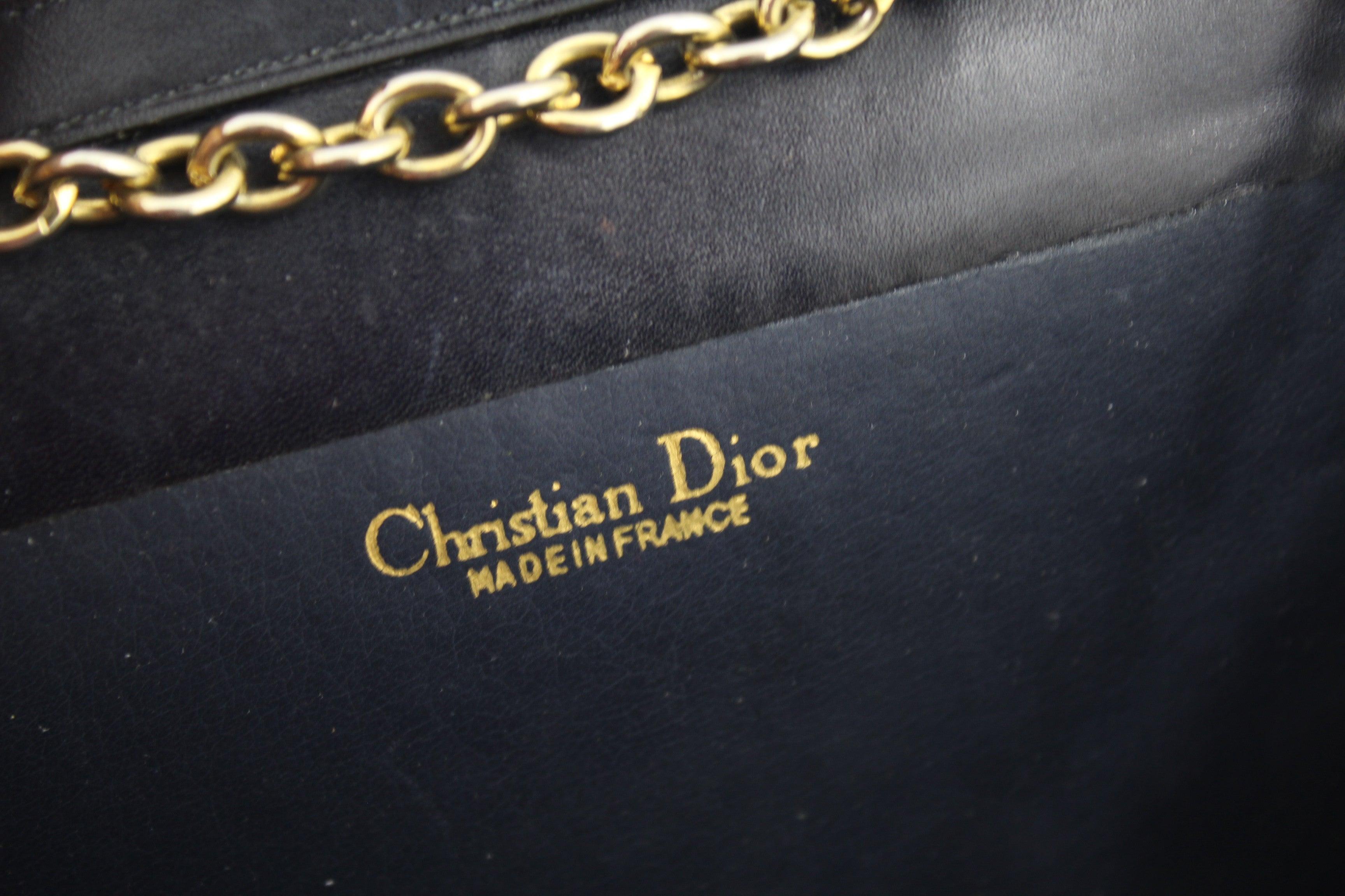 Dior Vintage Snake Clutch / Shoulder Bag With Golden Hardware NcgLondt