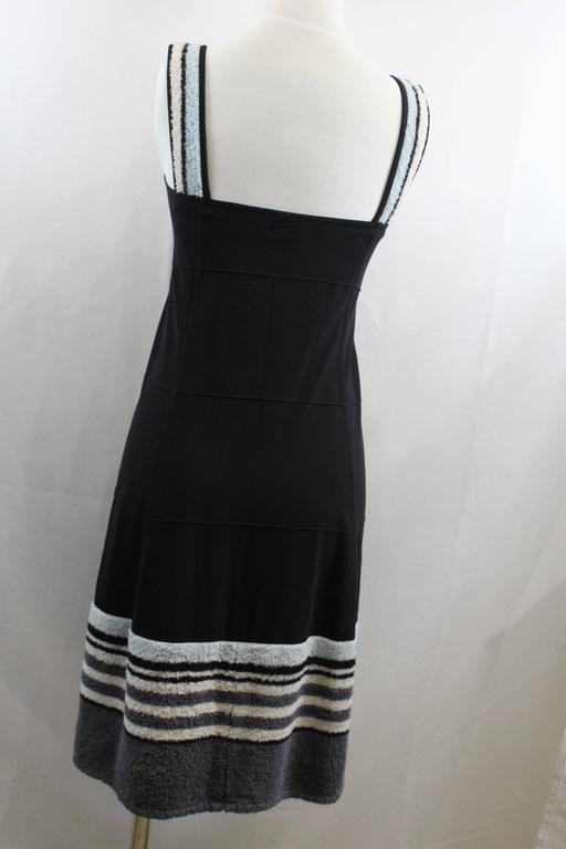 Chanel Summer Nylon Black Dress 5