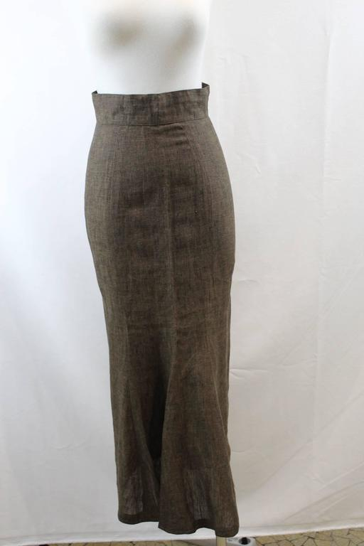 Paco Rabanne Vintage Skirt Size S 2
