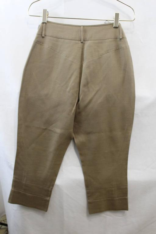 Gray Dior Boutique Vintage Trousers. Size FR 36/ US 4