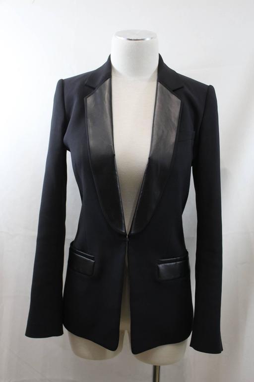 viktor and rolf black blazer size 38 for sale at 1stdibs. Black Bedroom Furniture Sets. Home Design Ideas