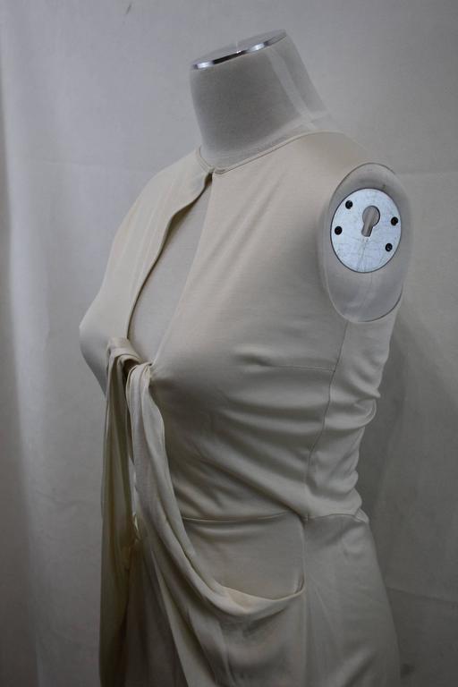 Gray Yves Saint Laurent Summer Long Dress For Sale