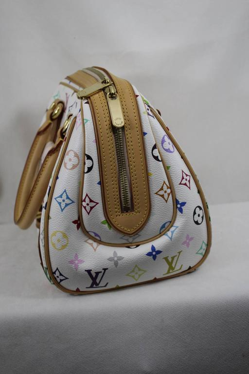 Louis Vuitton Priscilla Multicolore Canvas Bag. 2
