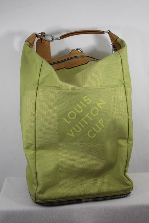 Louis Vuitton Limited Edition America S Cup Travel Bag