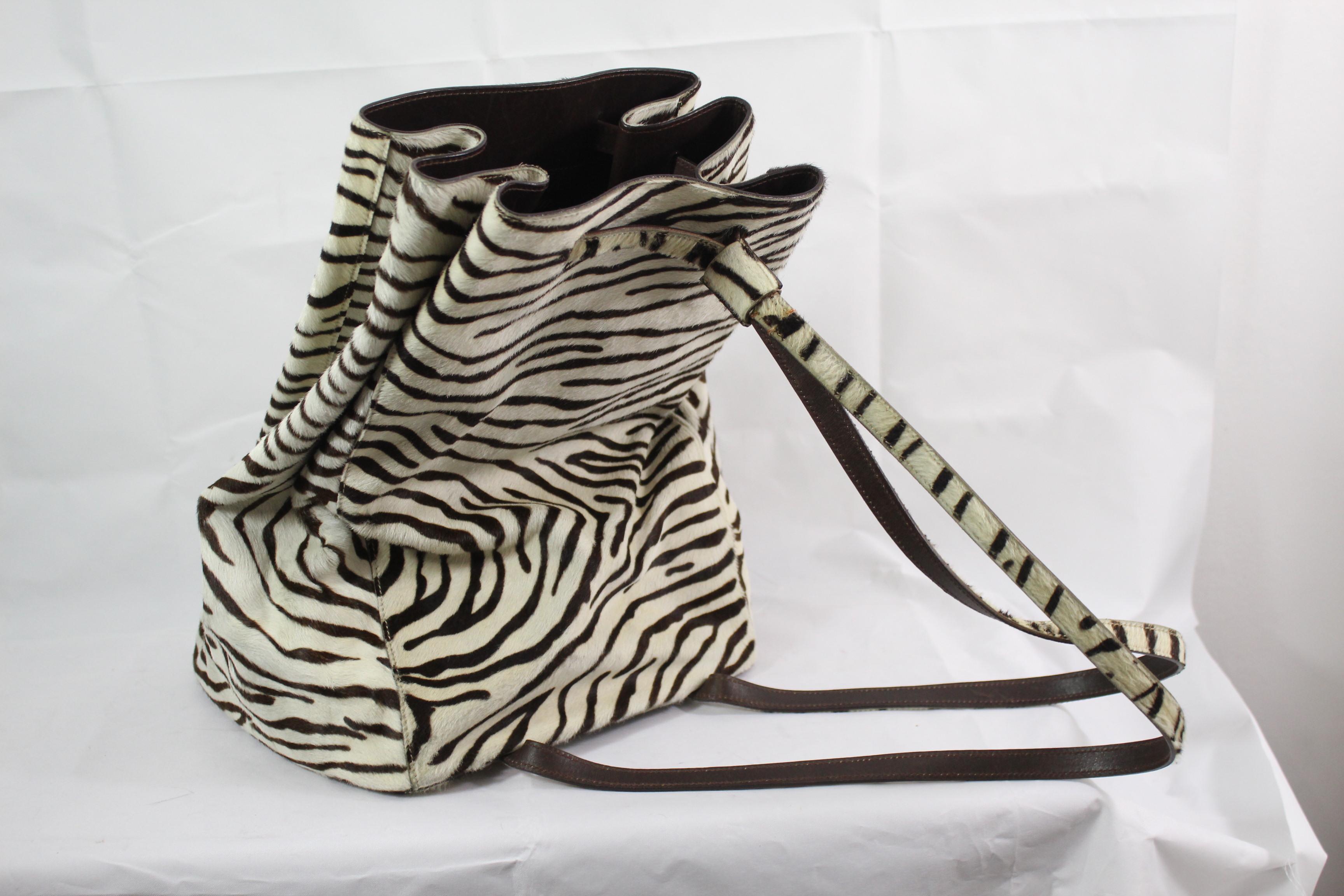 4d4c19b26757 amazon prada zebra print pony hair cavallino bag bianco bruci 35284 9d48d  9fe66; top quality beige prada zebra style leather backpack for sale 7cc5e  8c64c