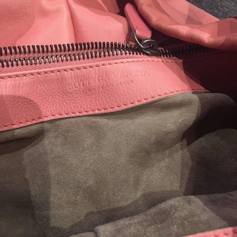 Bottega Veneta Petal Woven Leather Aquilone Fortune Cookie Hobo Bag, 2010  For Sale 1