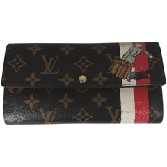 Louis Vuitton Limited Edition Groom Sarah Wallet