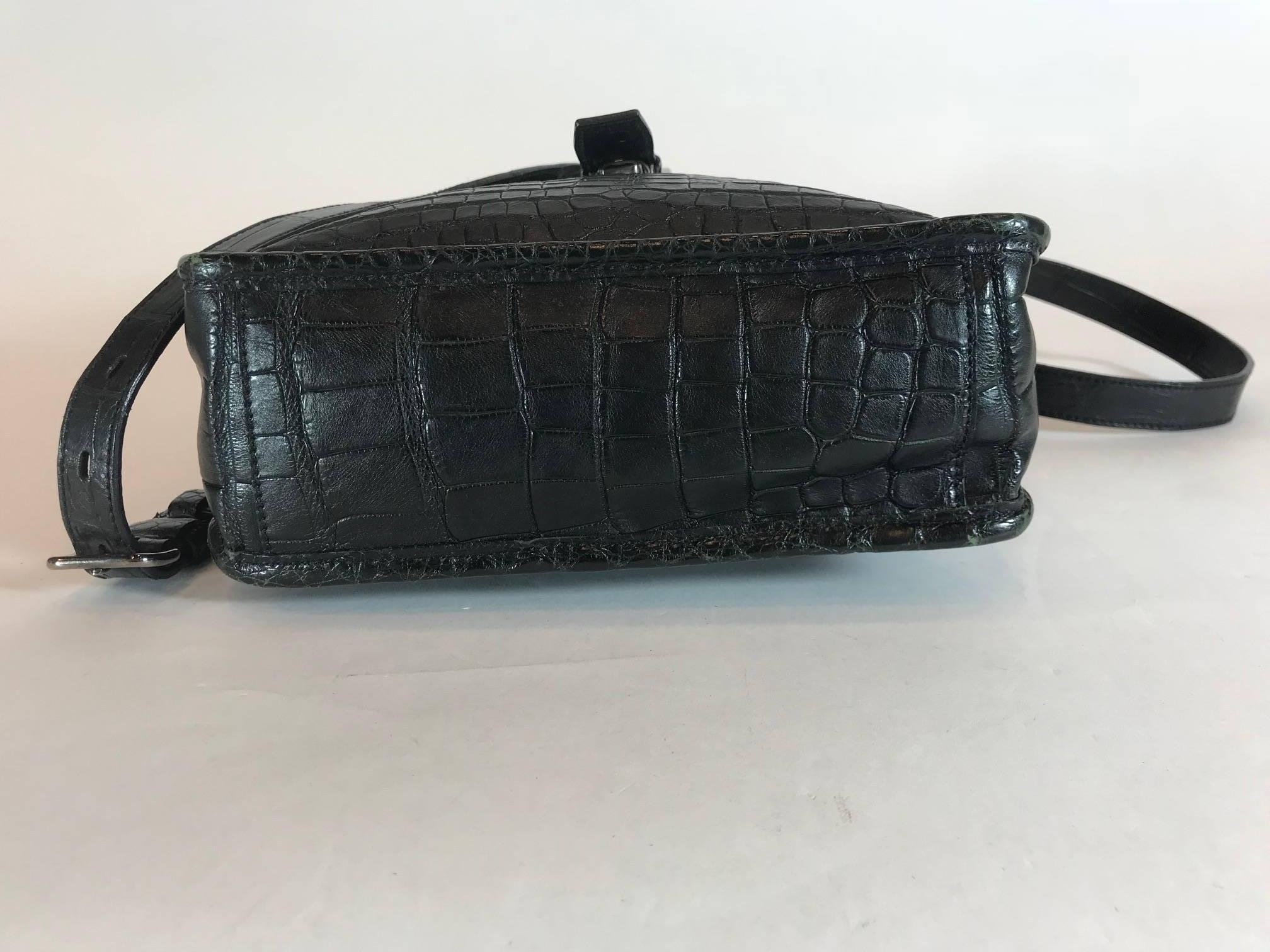 ef360b059c94 ... coupon for prada black crocodile crossbody bag for sale 1 f9065 e3f61