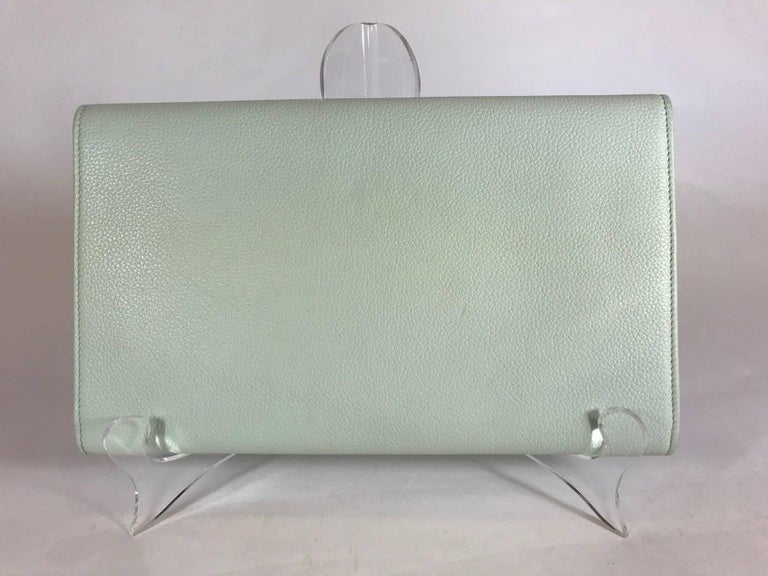 Jimmy Choo Reese Clutch In Excellent Condition For Sale In Roslyn, NY