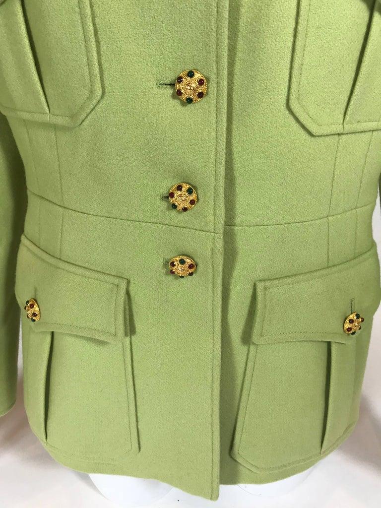 Women's or Men's Chanel Wool Jacket For Sale