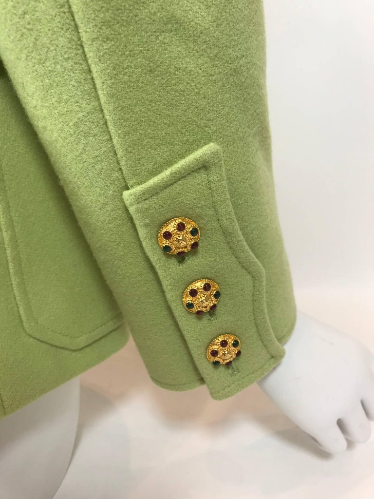 Chanel Wool Jacket For Sale 2