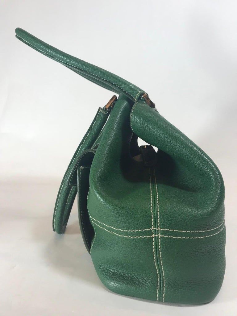 Loro Piana Medium Globe Bag In Good Condition For Sale In Roslyn, NY