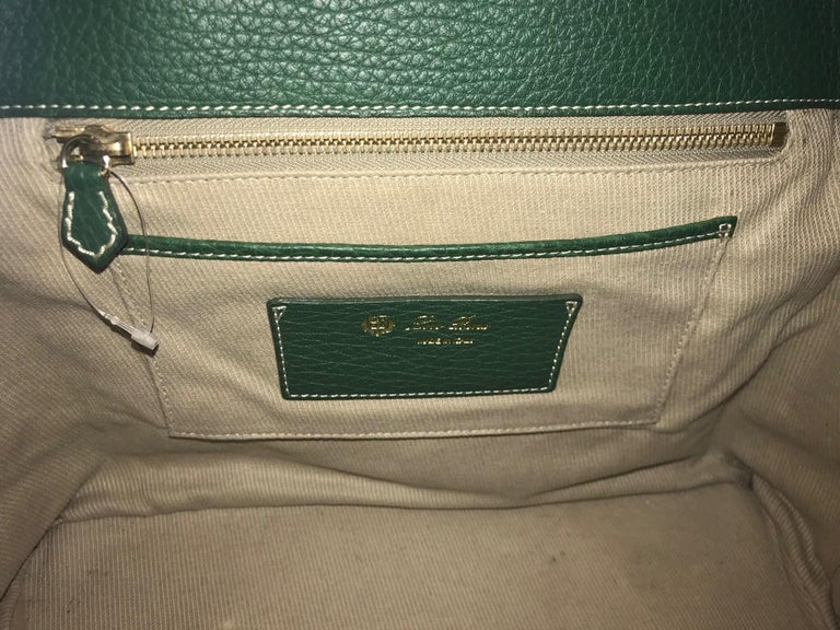Loro Piana Medium Globe Bag For Sale 9