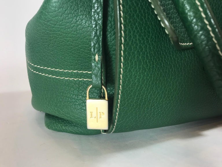 Women's or Men's Loro Piana Medium Globe Bag For Sale