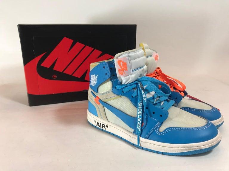 check out 209f9 90b39 Off White X Nike The Ten: Air Jordan 1 Retro Sneakers