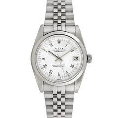 Rolex Ladies Datejust Midsize Wristwatch, Stainless Steel, Ref 6827, Circa 1970