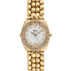 Chopard Gstaad 18K Yellow Gold Ladies Wristwatch, Ref 325120-11, Unworn