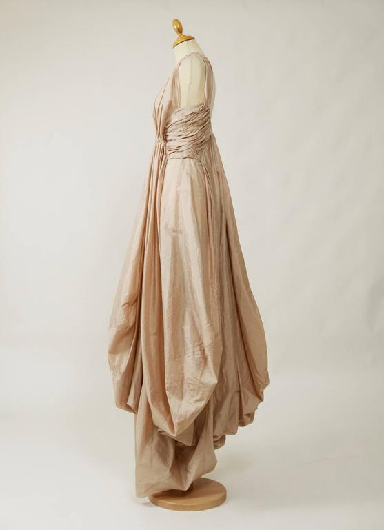 Christian Dior Powder Pink Silk Evening Empire Dress 2