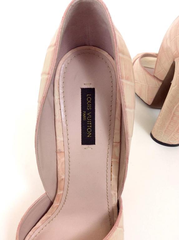 Louis Vuitton Leather Pumps Shoes For Sale 2