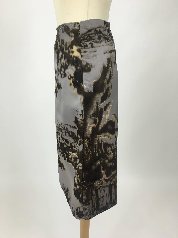PRADA Landscape Print Skirt at 1stdibs