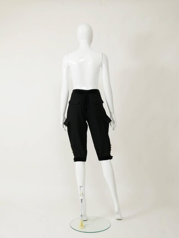 Yves Saint Laurent Rive Gauche Knickerbockers Gaucho Trouser Pants 2