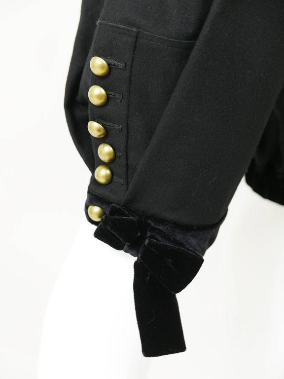 Yves Saint Laurent Rive Gauche Knickerbockers Gaucho Trouser Pants 5