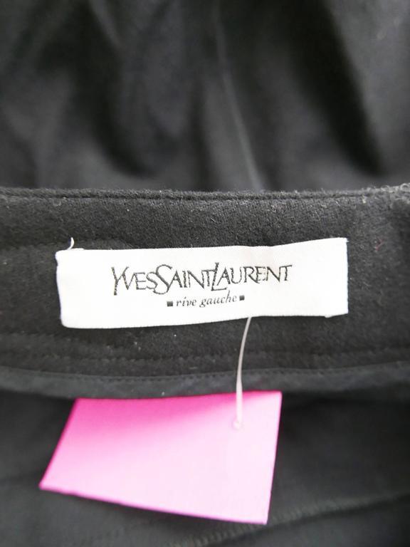 Yves Saint Laurent Rive Gauche Knickerbockers Gaucho Trouser Pants 8