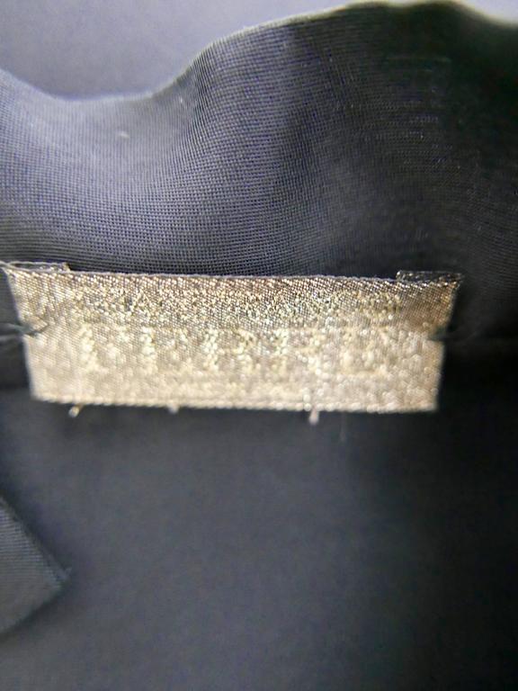 1990s GIANFRANCO FERRE' Black Minimal Vest 5