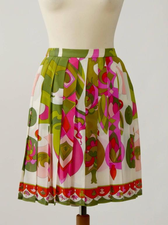 1970s EMILIO PUCCI Silk Suit Dress 4