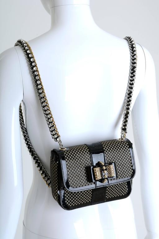 Christian Louboutin Sweet Charity Backpack Crystal Embellished Mini 2