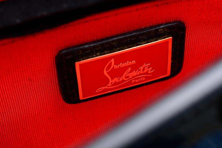 Christian Louboutin Sweet Charity Backpack Crystal Embellished Mini 7