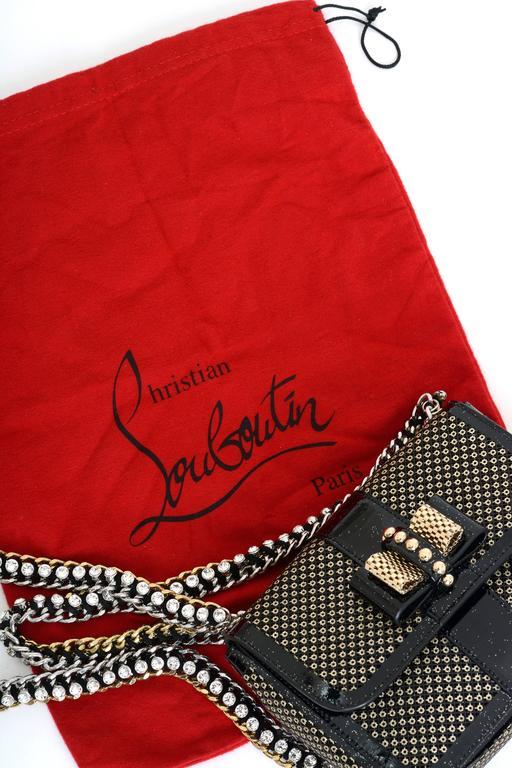 Christian Louboutin Sweet Charity Backpack Crystal Embellished Mini 5