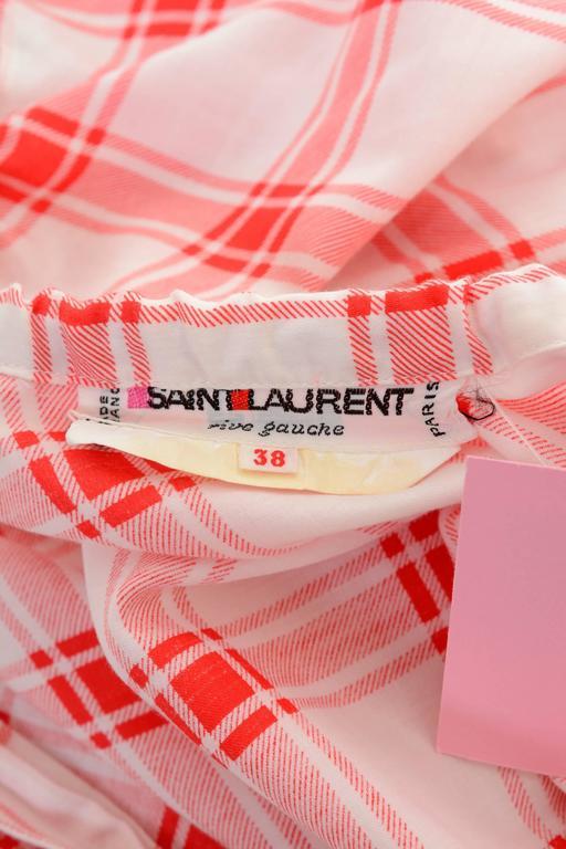 1970s SAINT LAURENT Rive Gauche Gypsy Skirt & Scarf Set  For Sale 1