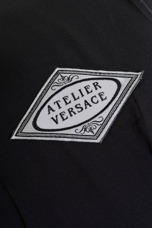1990s GIANNI VERSACE Atelier Boucle Wool Bolero Jacket  3