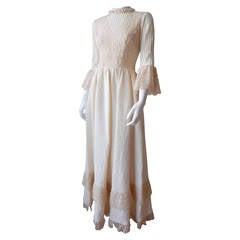 1970s Mexican Wedding Dress
