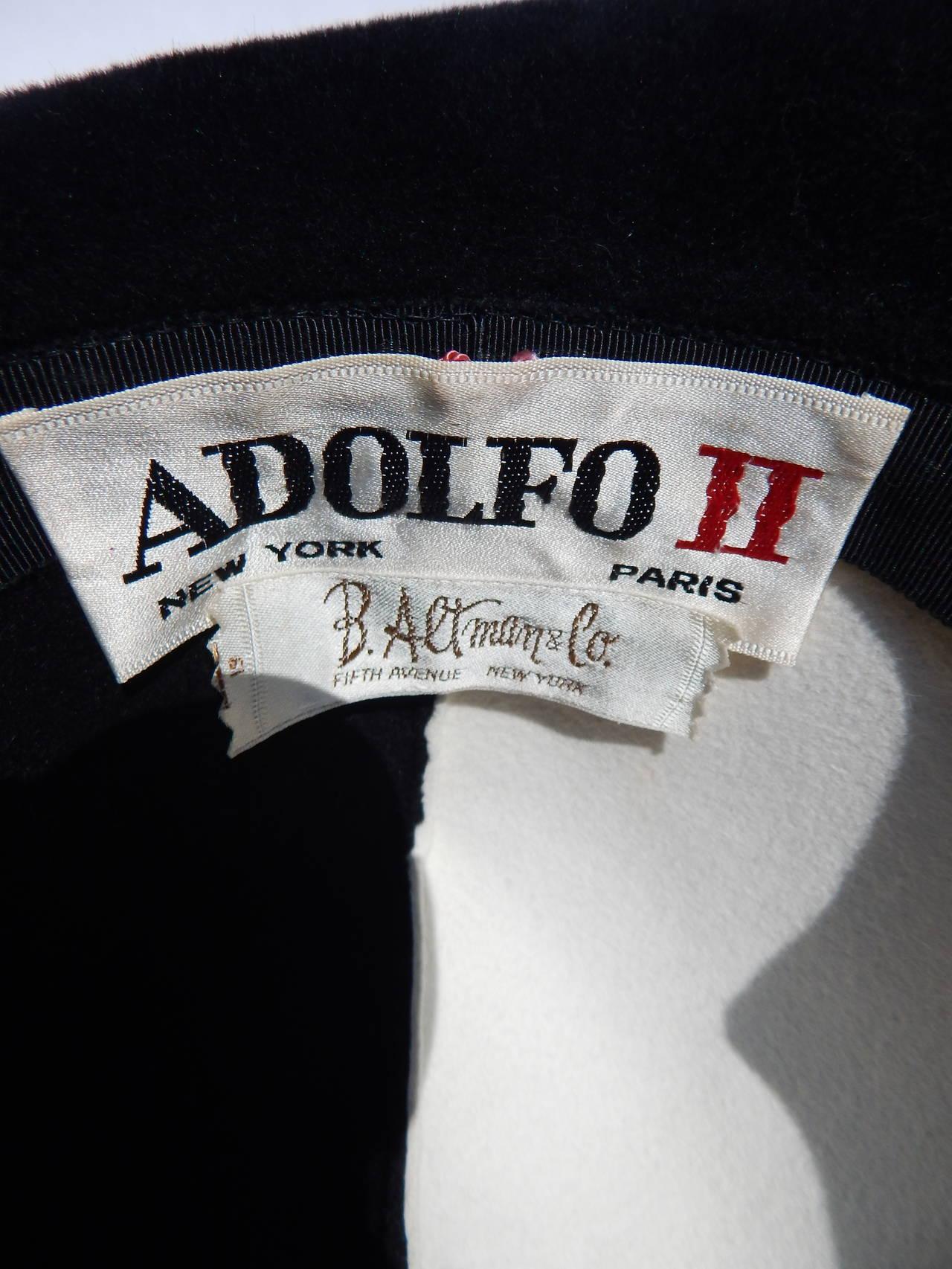 1960s Adolfo Hat 3