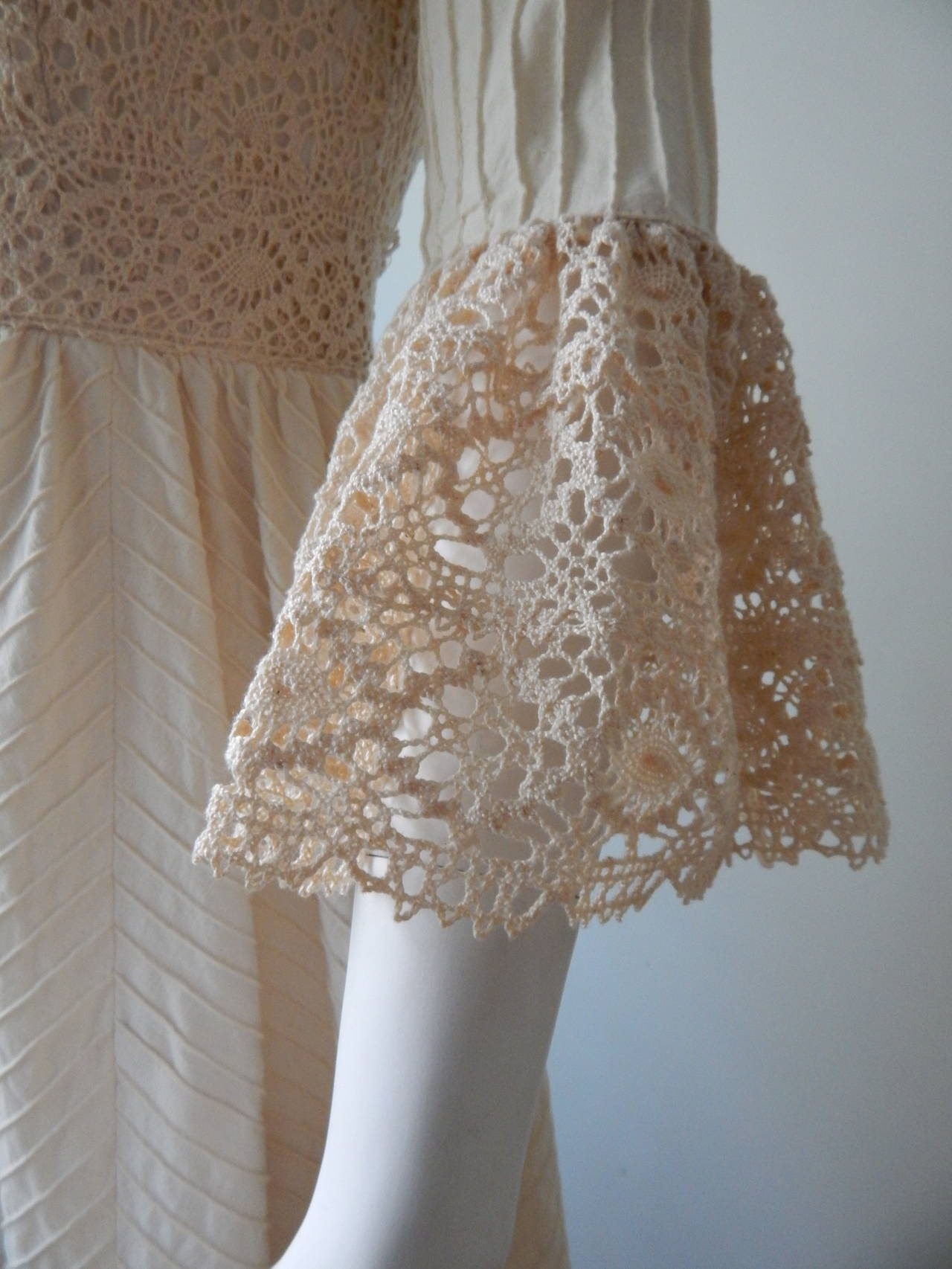 1970s mexican wedding dress for sale at 1stdibs for 1970s wedding dresses for sale