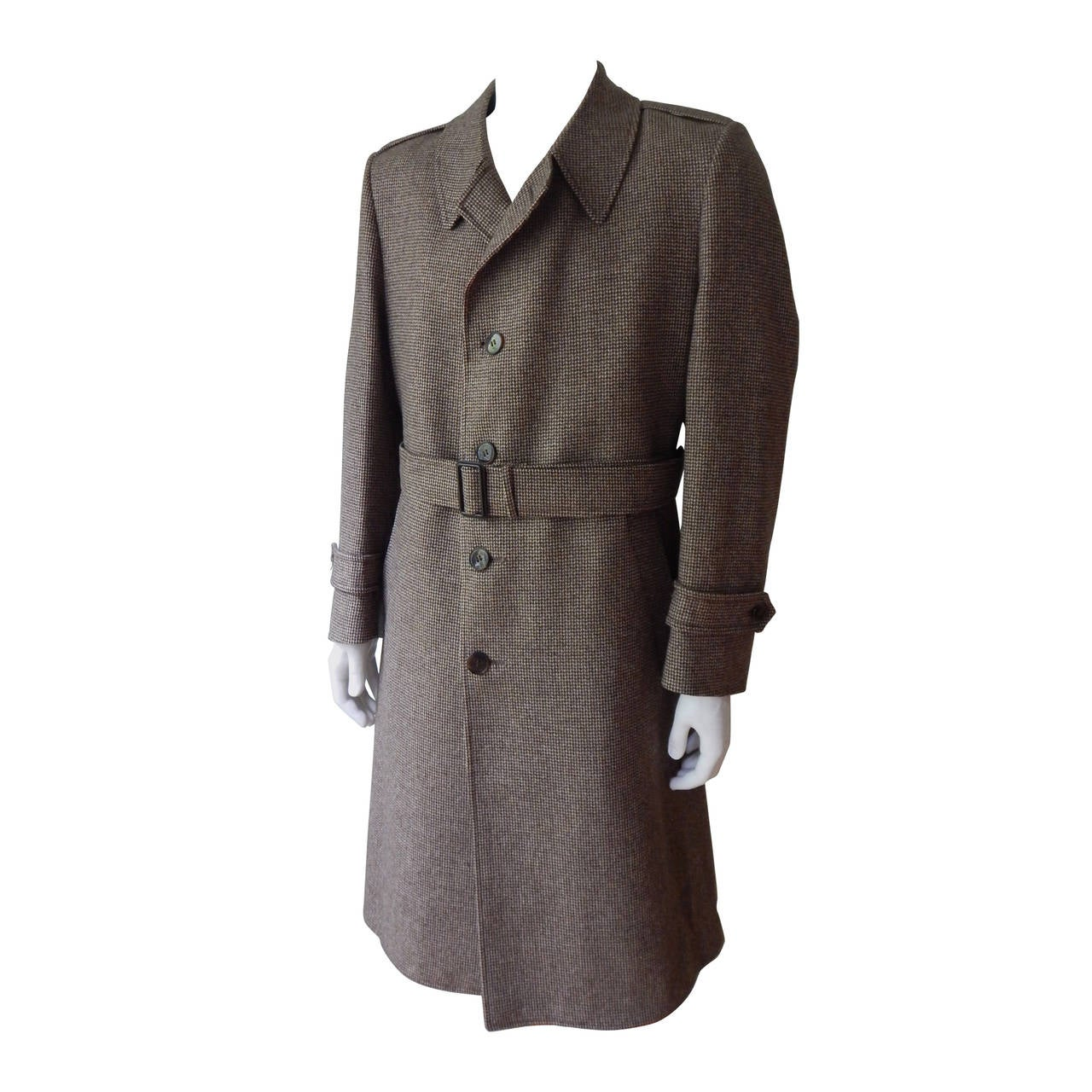 Yves Saint Laurent Mens Coat