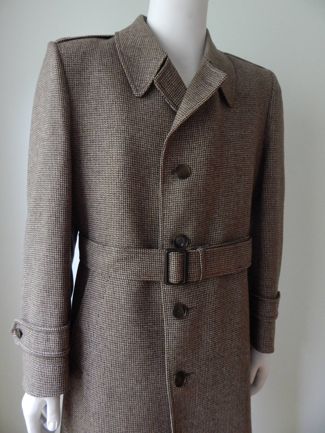 Yves Saint Laurent Mens Coat 2