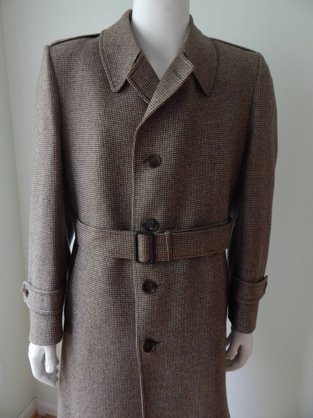 Yves Saint Laurent Mens Coat 3