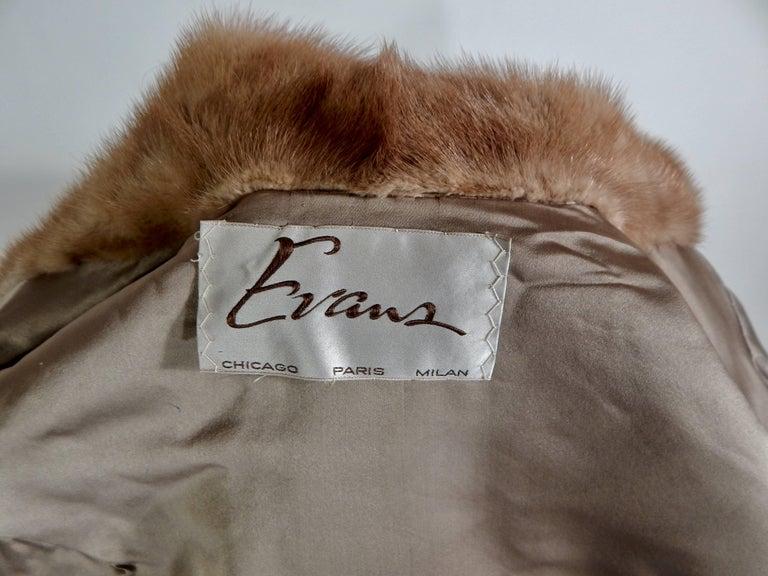 Evans Paris Mink Stole, 1960s  For Sale 5